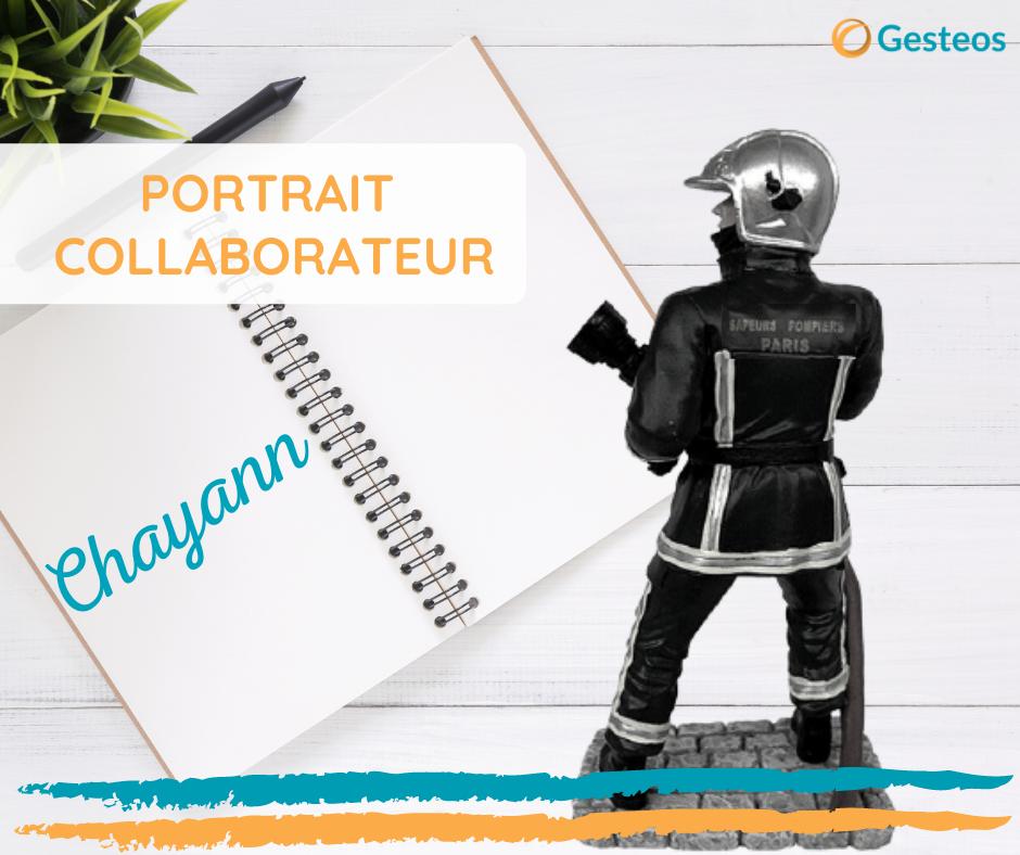 Portrait interview de Chayann, technicien support, qui veut devenir pompier de Paris